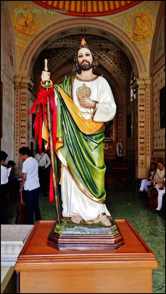 Capilla De San Judas Tadeo Templo De San Juan De Diospue Flickr
