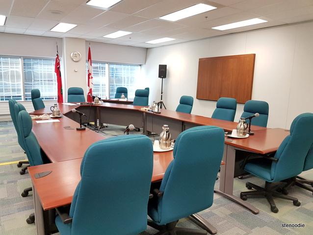 FSCO boardroom