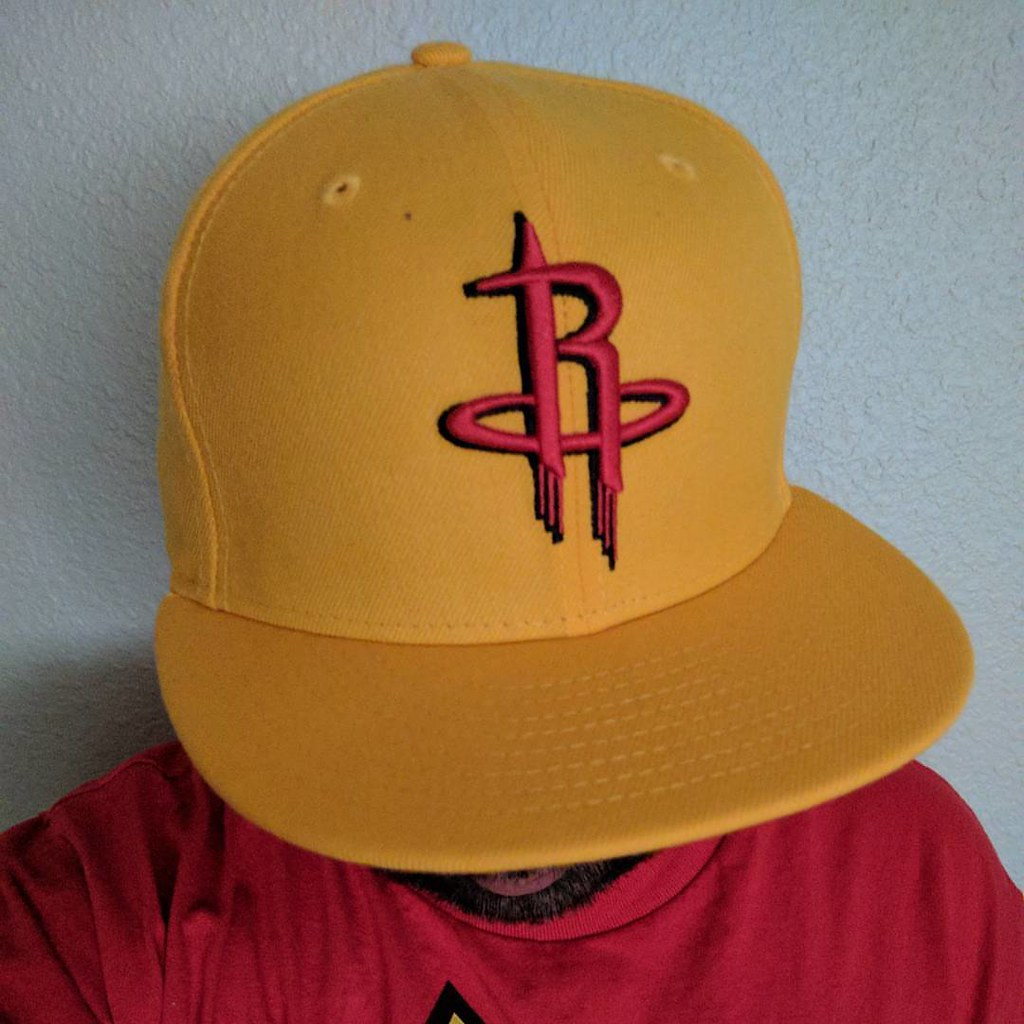 official photos 08dac cd9d1 Cap At Work: Houston Rockets in team colors that I got fro ...