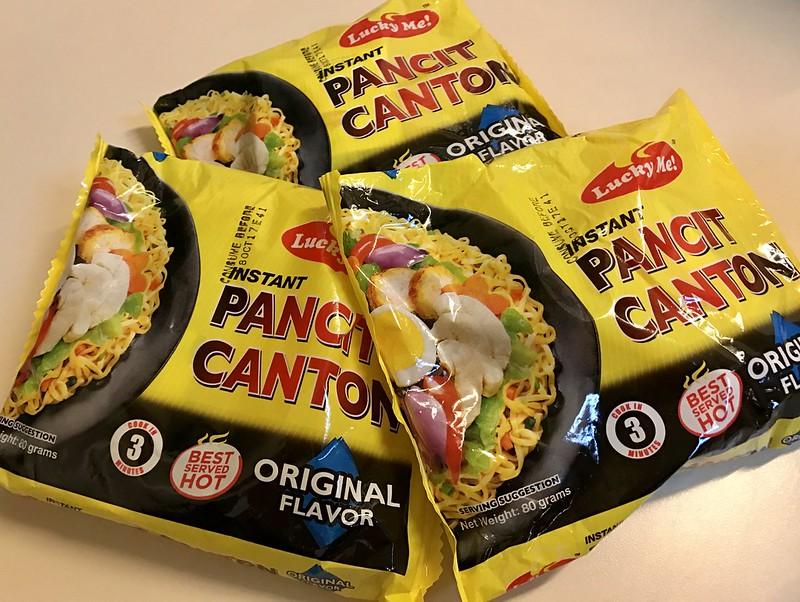 The Newest Lucky Me Pancit Canton