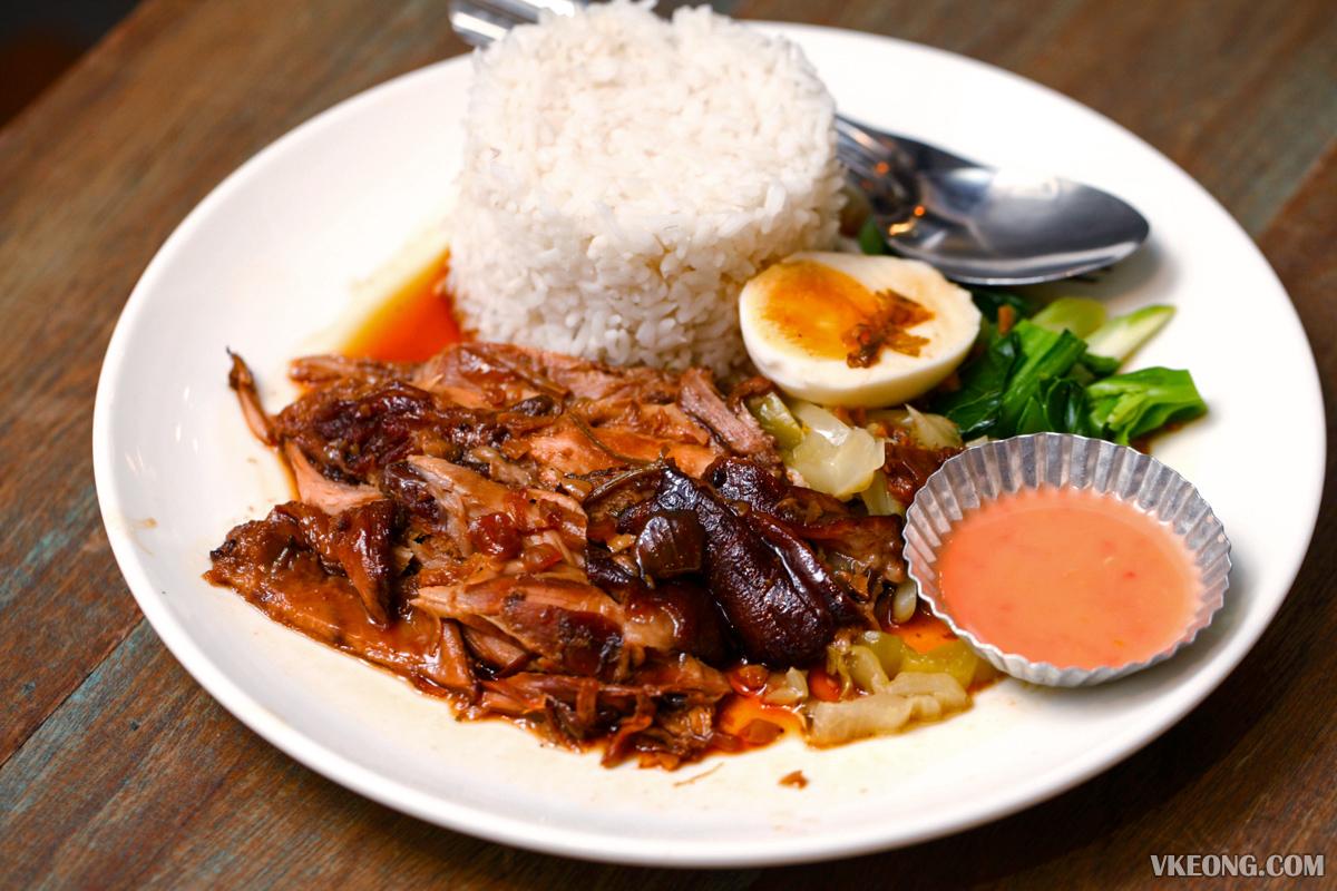 Thailicious Solaris Mont Kiara Pork Leg Rice