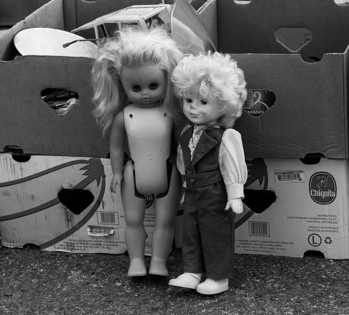 rompetori Rajamäki vanha nukke vintage