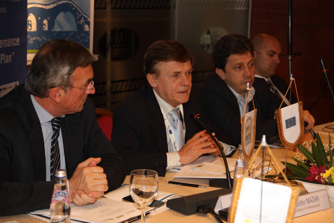 THEMATIC COMMITTEE ON TRANSPORT AND INFRASTRUCTURE, Shkodër, 7 November 2013