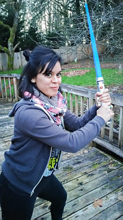 Star Wars Fabric Crochet Scarf 4 | by fibreandfabrics