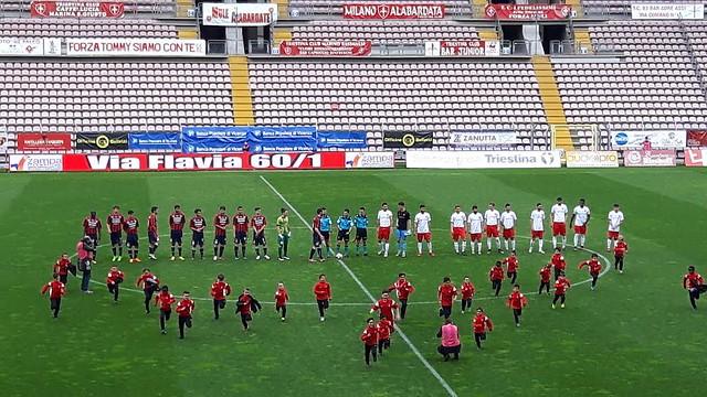 Triestina-Virtus Verona 2-1: sconfitta indolore, é 4° posto