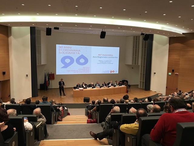 Assemblea Avis Lombardia 2017
