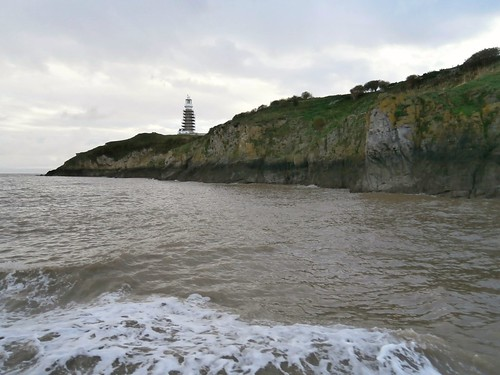 1 Flat Holm with lighthouse, Ynys Echni 10-16
