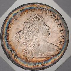 Green-Newman 1796 quarter obverse