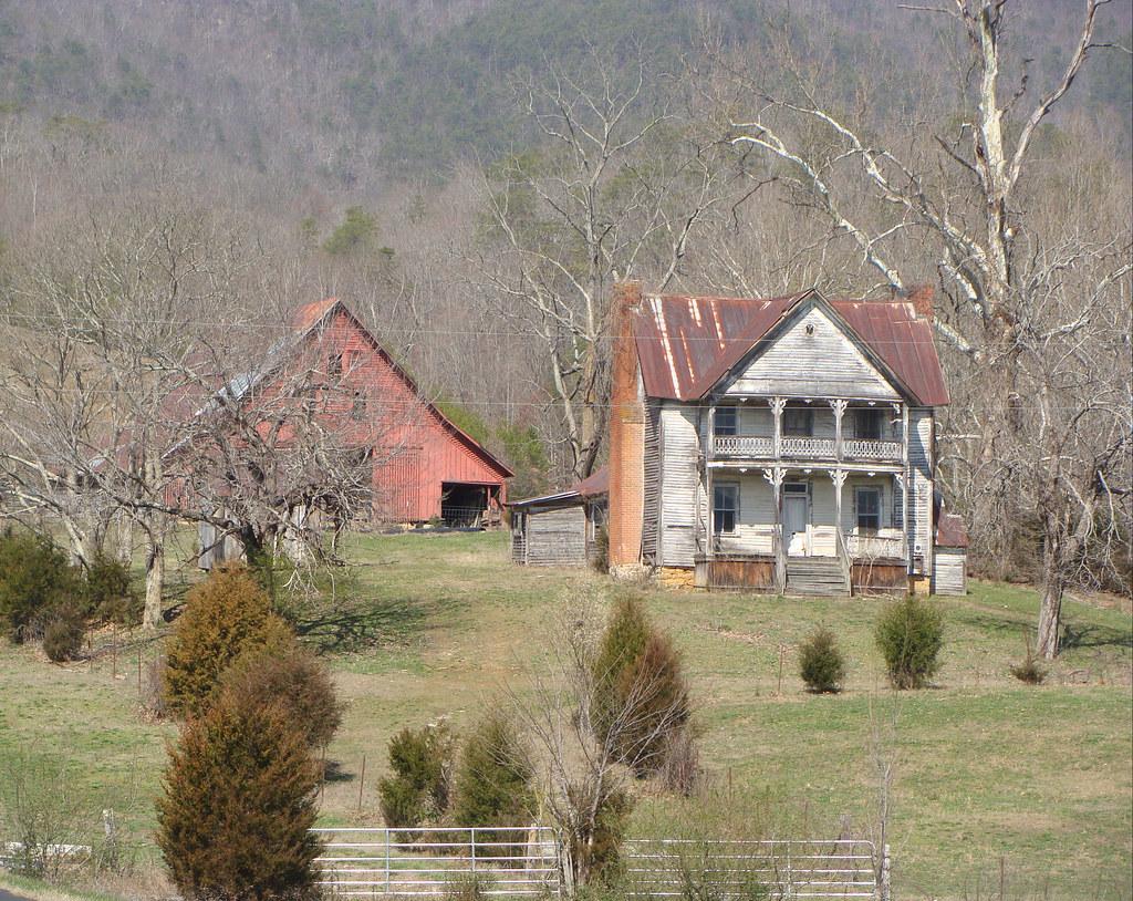 Old Two Story House Barn Washburn Tn I Really Like