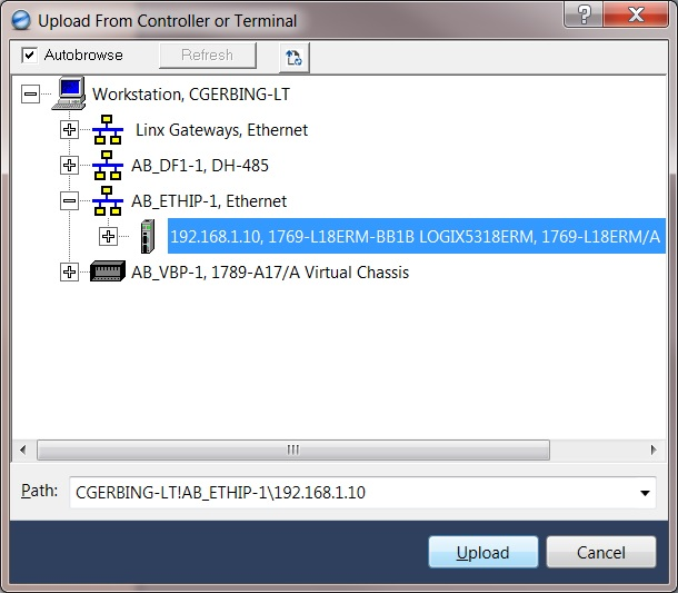 How to Backup an Allen-Bradley Logix Controller Program - Part II