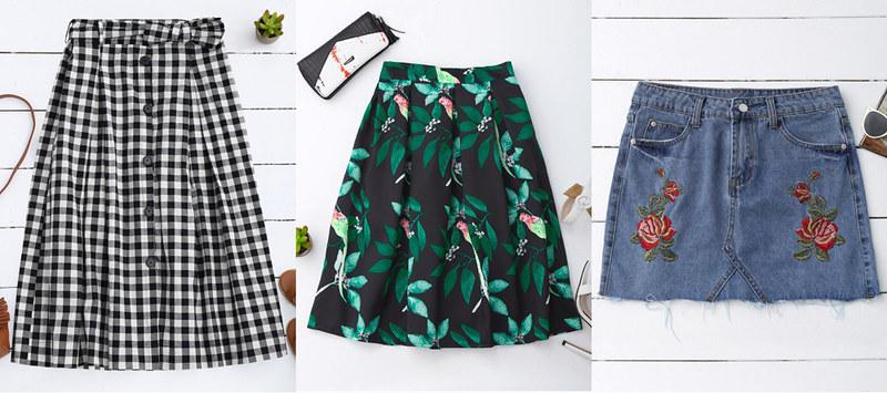 zaful-spring-skirts