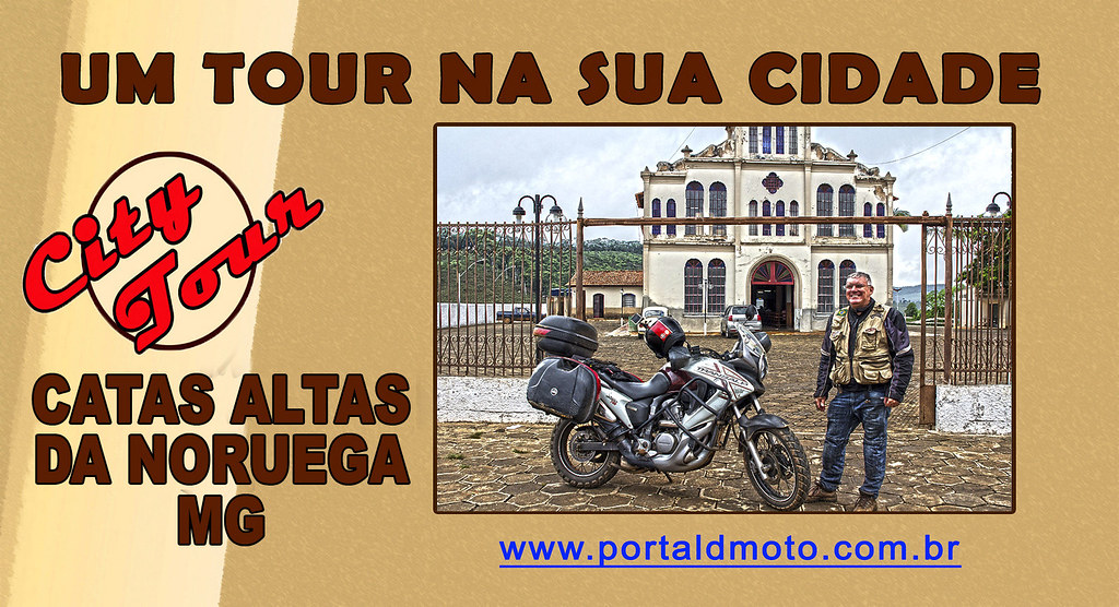 CITY TOUR=Catas Altas da Noruega/MG