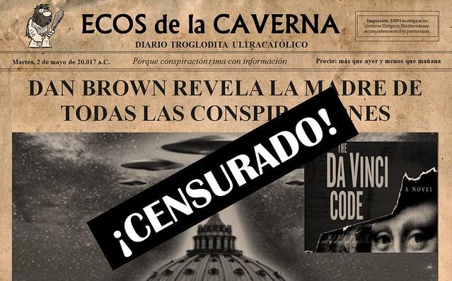De Brown Dan Las Conspiraciones Revela Madre La Todas Nk80PnwOX