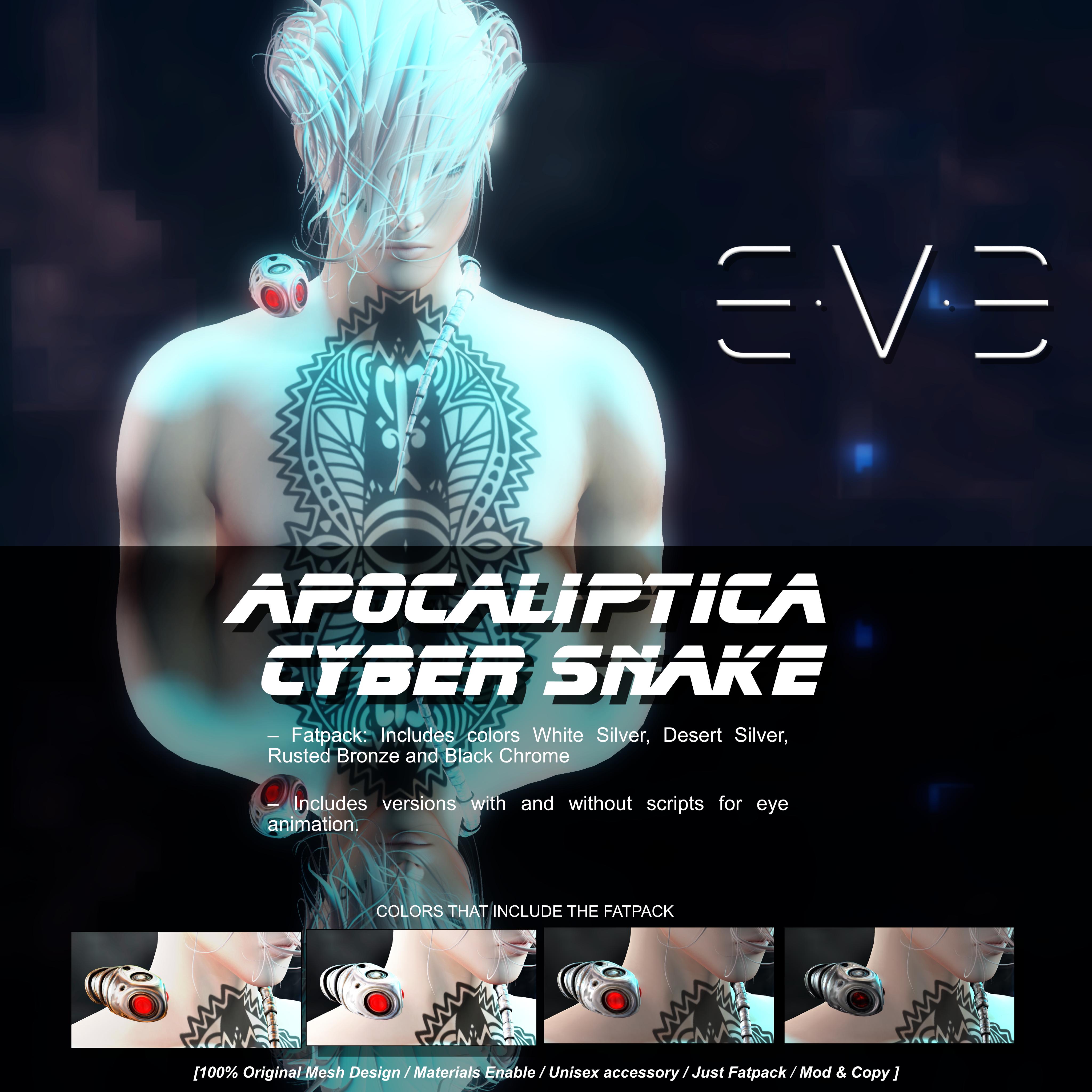 E.V.E Apocaliptica Cyber Snake Vendor