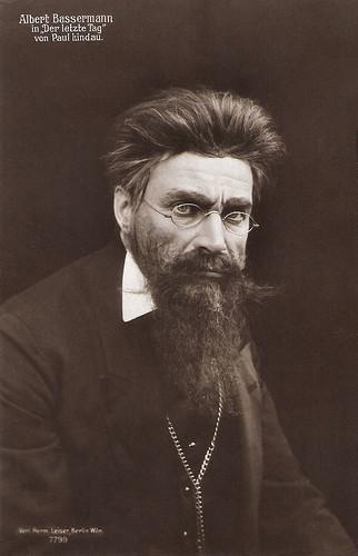 Albert Bassermann in Der Letzte Tag (1913)