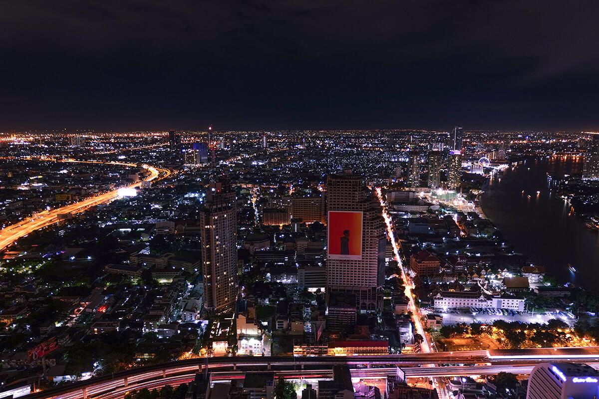 Sky Bar Rooftop Lebua Bangkok, Thailand
