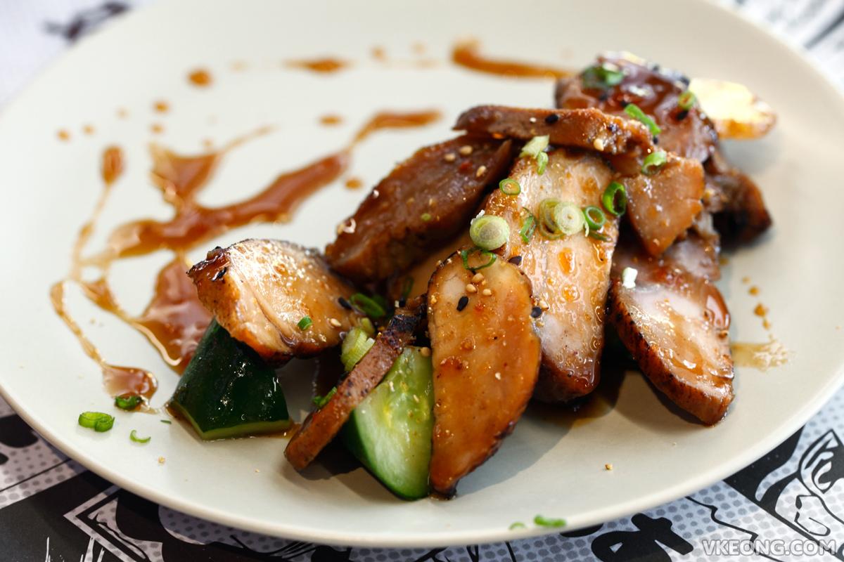 Ru Di Fook Noodle Bar Yuzu BBQ Pork