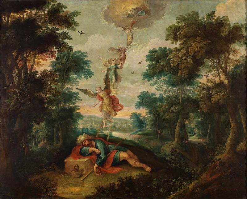 Frans Francken II - La escala de Jacob