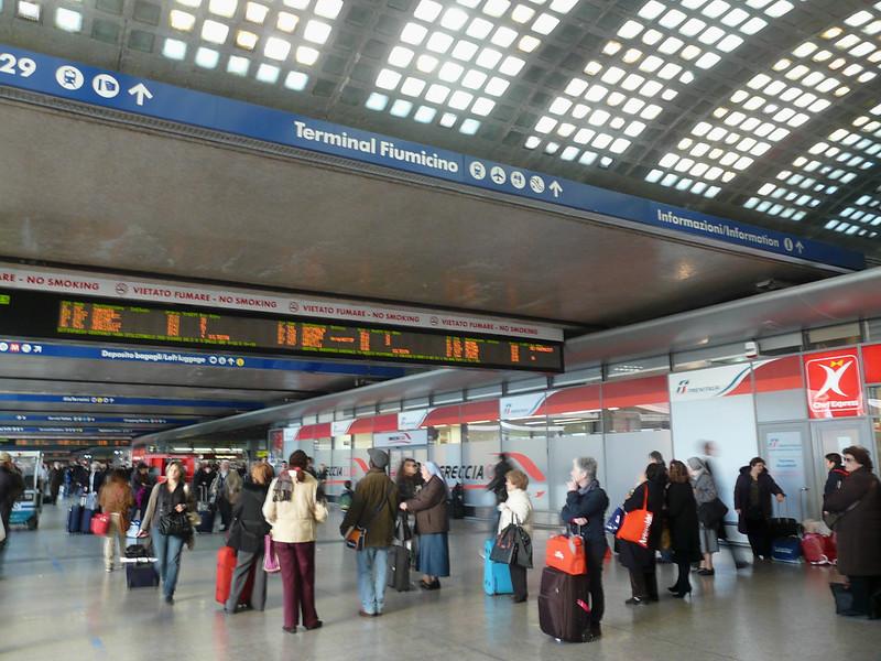 Aeroporto Fiumicino, Itália