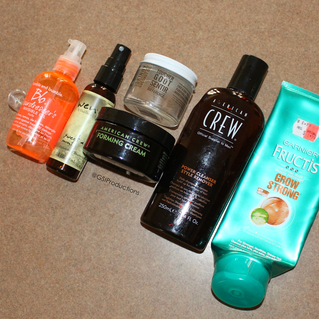 Hair Care Empties Spring 2017