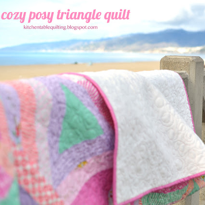 Posy Triangle Quilt Tutorial