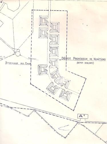 Le dépôt de munitions de la base OTAN de Mirecourt