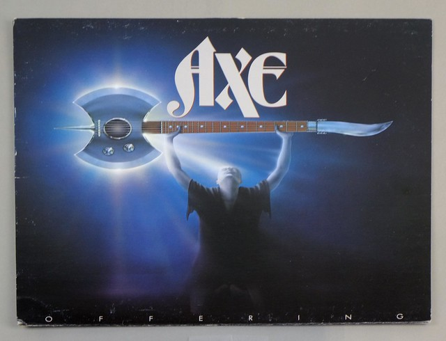 "AXE OFFERING ATCO CANADA 12"" LP ALBUM VINYL"