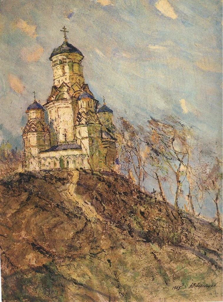 维克多·阿斯塔利采夫画作选32