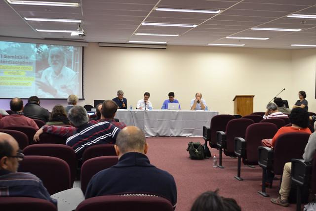 I Seminário Interdisciplinar - Capitalismo como religião e o pensamento crítico latino-americano