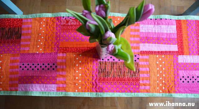 Tulips and new table cloth
