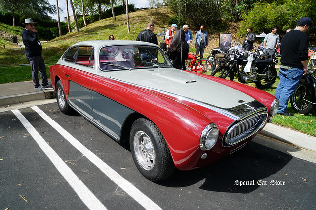 Jay Leno brought his 1953 Cunningham