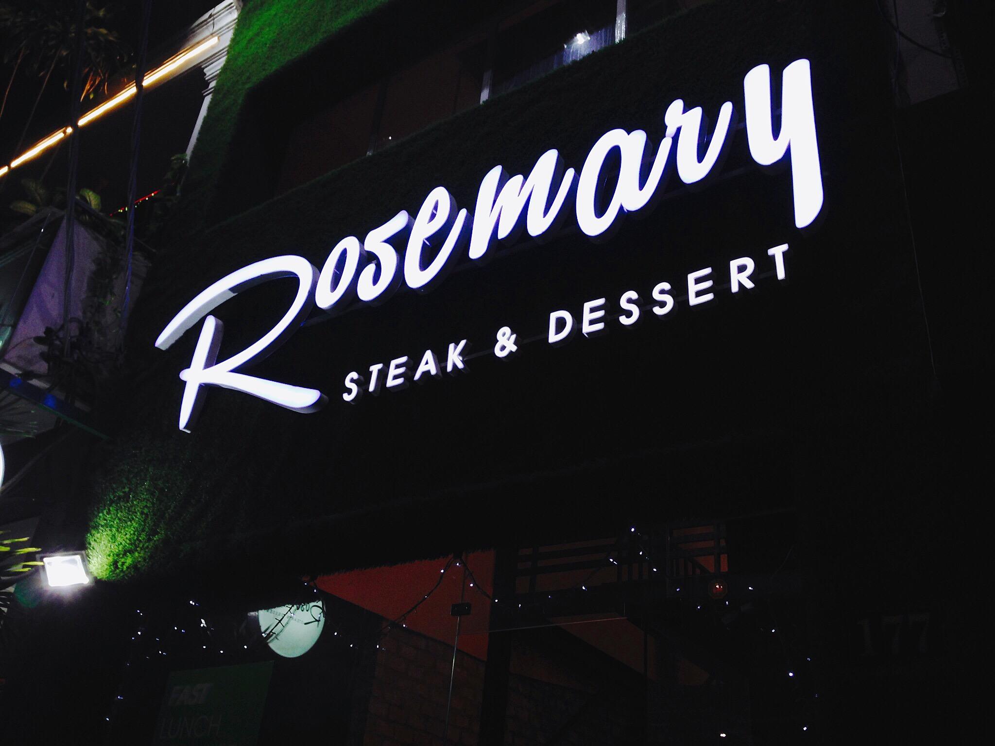 Rosemary Beefsteak