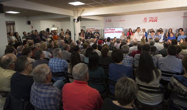 Encuentro-debate con militantes en Eibar