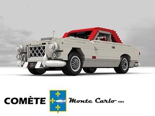 Ford France Comète Monte Carlo - 1954