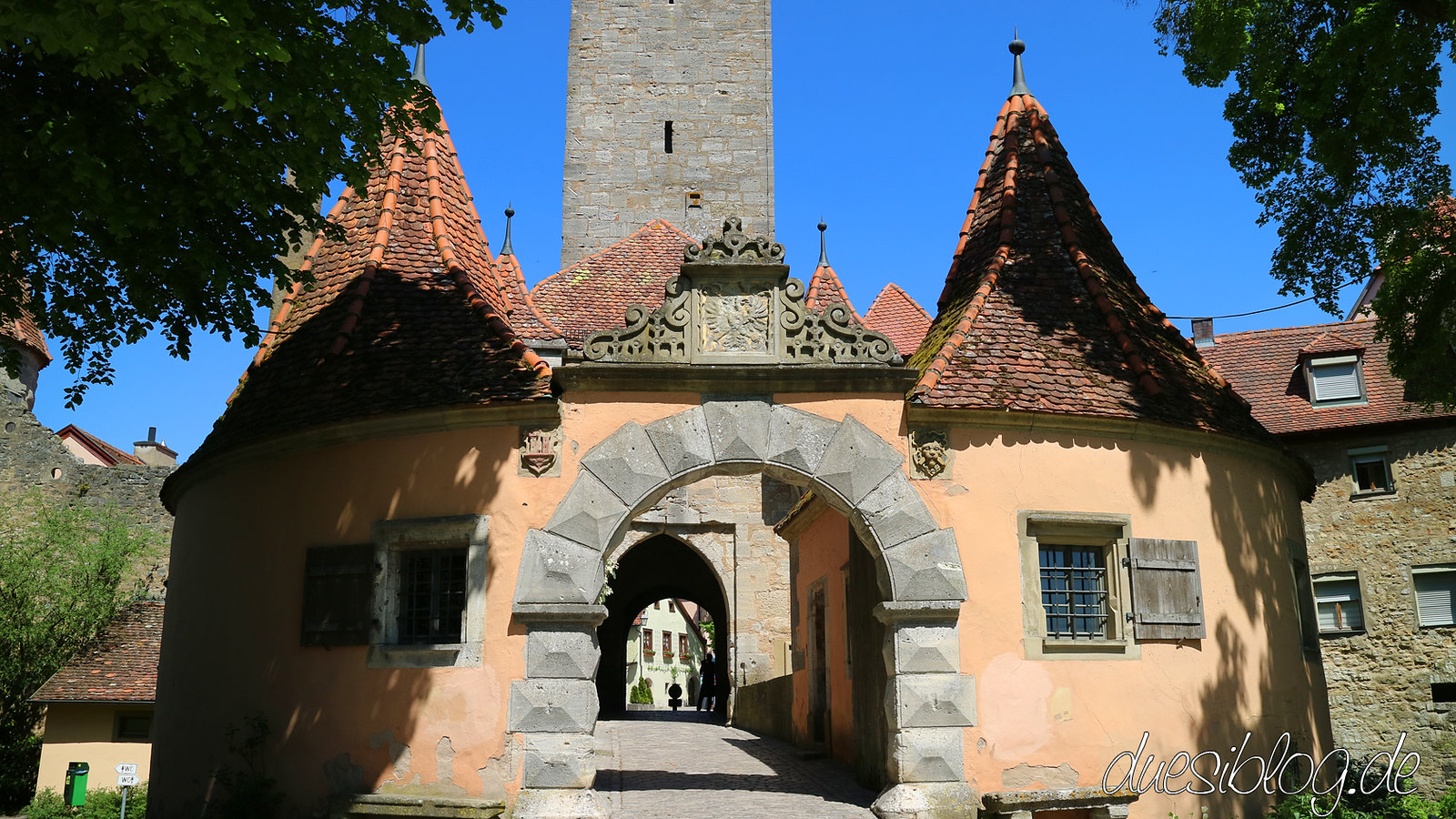 Rothenburg ob der Tauber Stadtmauer Türme duesiblog 30