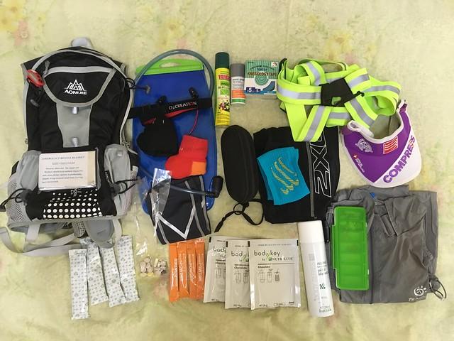 Preparing race mandatory items