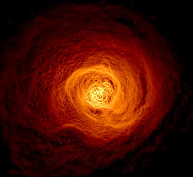 Mai kép - Perseus Galaxishalmaz hullámai - VCSE