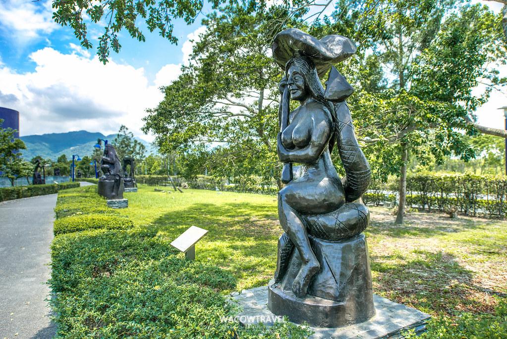台東史前博物館-戶外雕刻