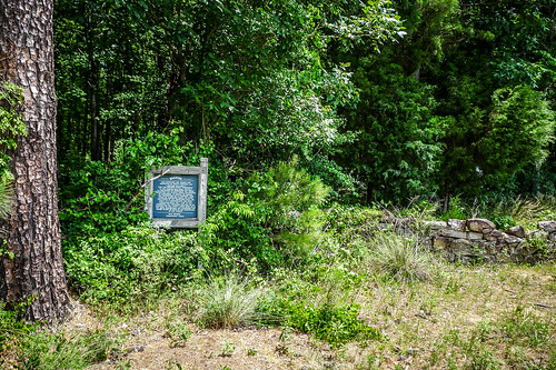 Old Stone Cemetery at Landsford Canal