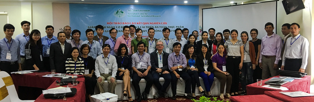 Reflection workshop of PigRISK project in Nghe An province, Vietnam (28 April 2017)