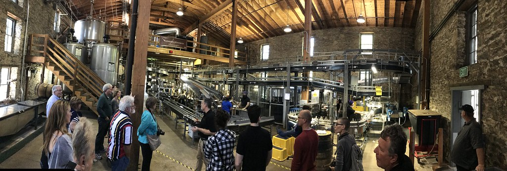 Woodford Reserve bottling room