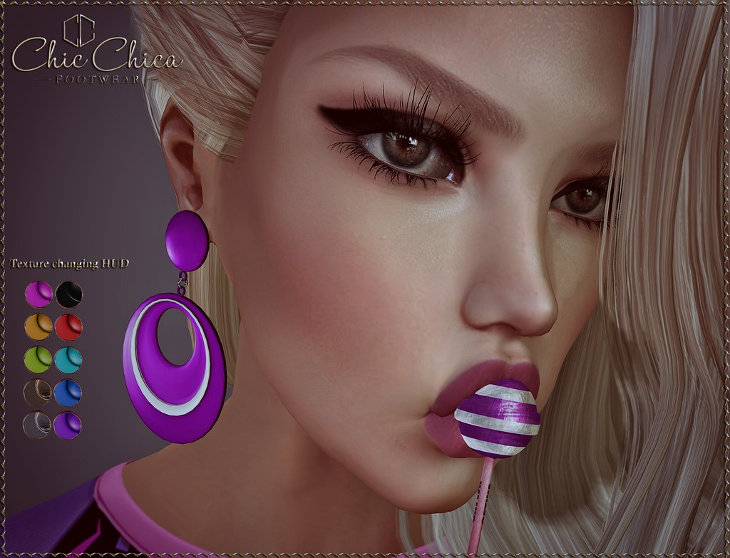 Ava earrings by ChicChica OUT@ Rewind 80s