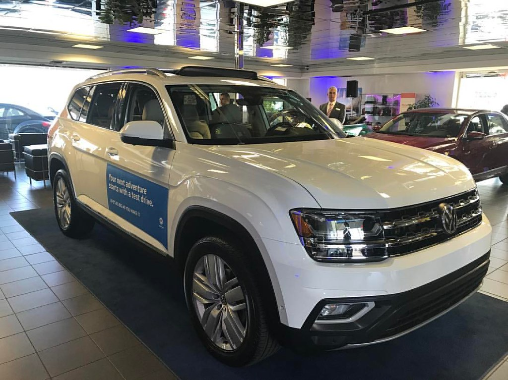 Wow Check Out The All New Vw Atlas At Galpin Volkswagen Flickr
