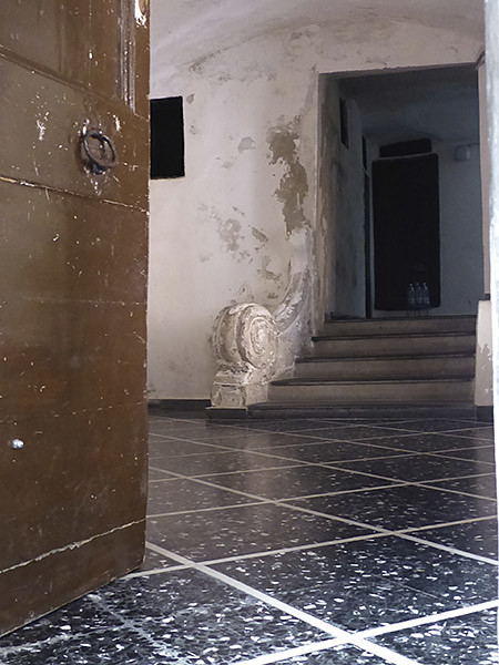 entrée d'immeuble porto maurizio