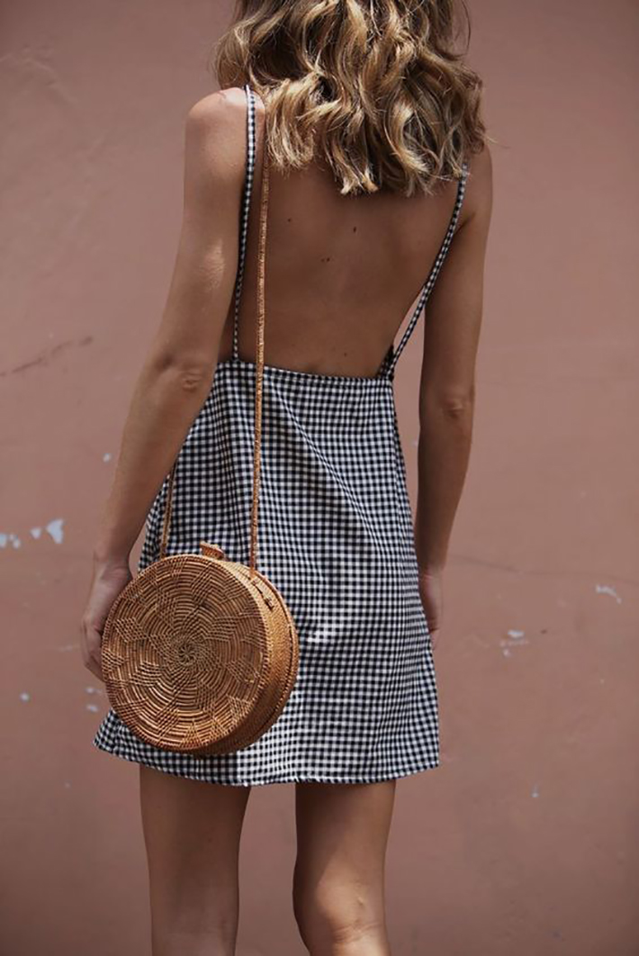wicker bag street style outfits inspiration accessories fashion trend style summer 20174