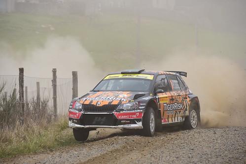 Martin McCormack - David Moynihan, Škoda Fabia R5, MSA British Rally Championship, Carlisle 2017