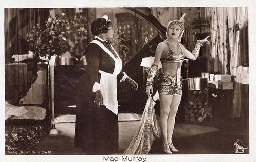 Mae Murray and Pauline Dempsey in Broadway Rose (1922)