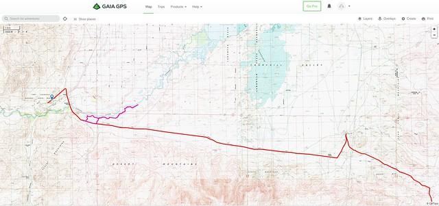 Bikepacking Fallon to Carson City on the Pony Express
