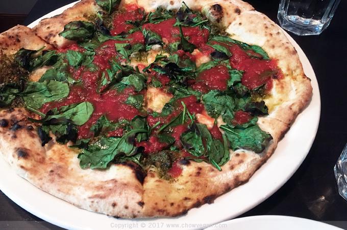 Vesta Redwood City Vegan Pesto Pizza   Chow Vegan