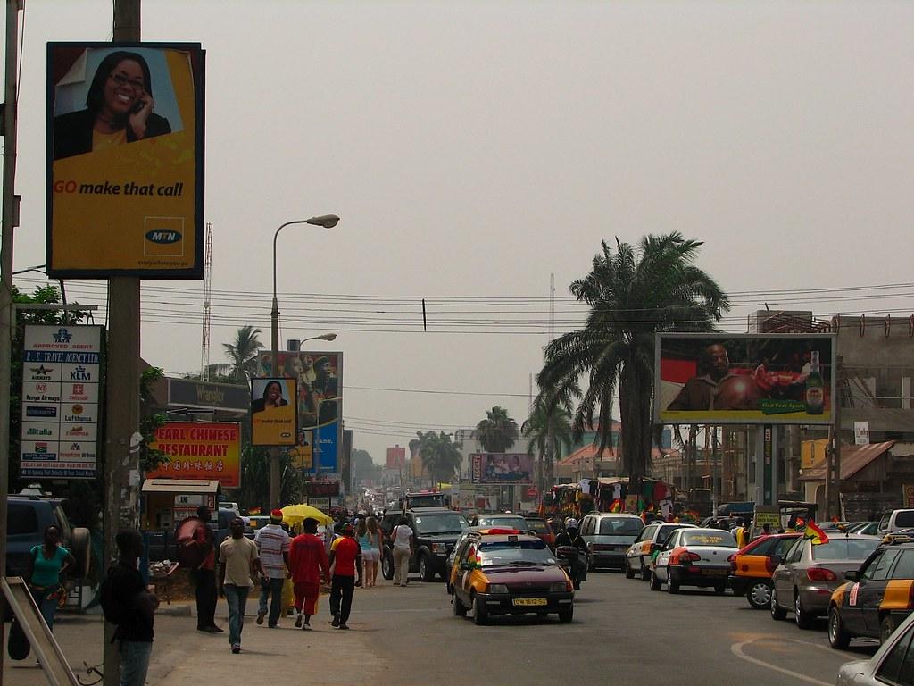 迦納首都阿克拉。lucianf(CC BY 2.0)